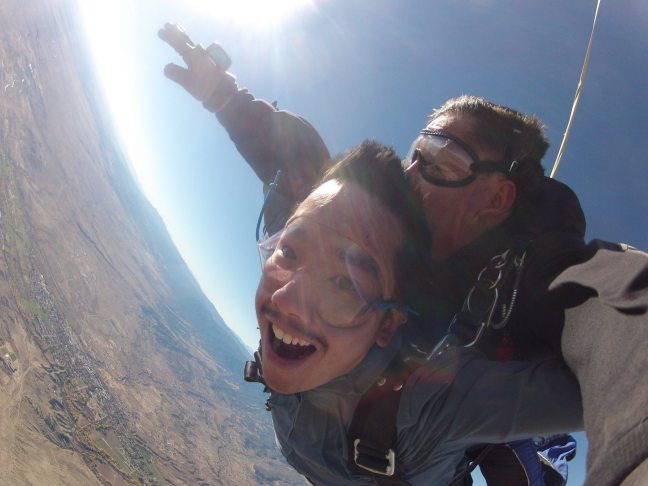 Skydiving in Colorado
