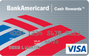 BofA BankAmericard Cash Rewards card