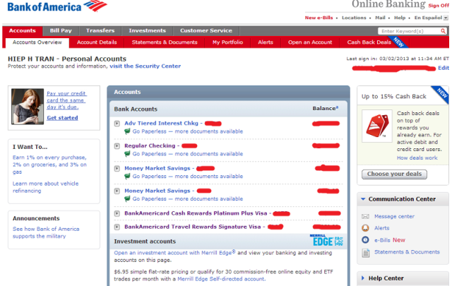 BofA interface 1