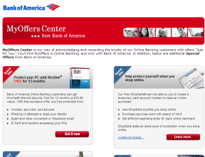 BofA MyOffers Center