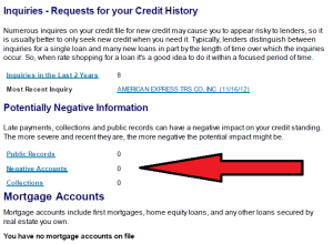 Collection accounts on Experian report