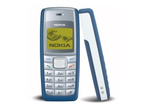 The legendary Nokia 1110/1110i, the highest sold mobile device of all time