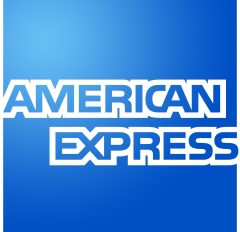 Amex logo. Plain and simple.