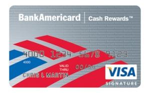 This is a Visa Signature credit card
